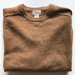 Men's {LL Bean} 100% lambs wool sweater